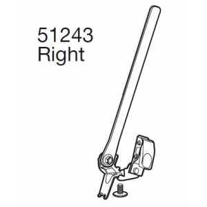 Pásek a skřipec Thule 51243 pravý k 920/922