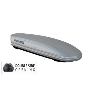 Menabo Mania 460 DUO - stříbrný