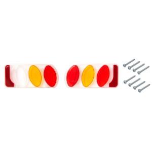 Náhradní plasty světel pro nosiče Peruzzo