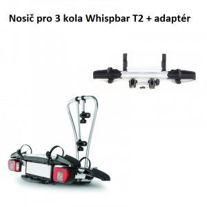 Whispbar T2 + adaptér pro 3 kola
