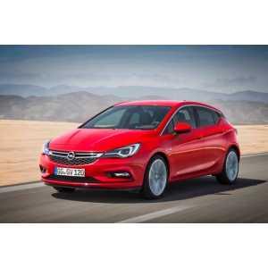 Příčníky Thule Opel Astra 2016-