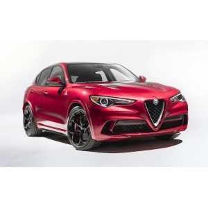 Příčníky Thule Alfa Romeo Stelvio 2017- s integrovanými podélníky
