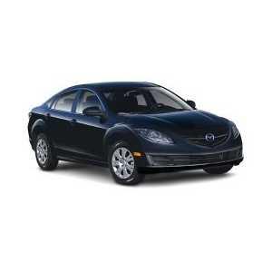 Příčníky Thule Mazda 6 2002-2012 s pevnými body