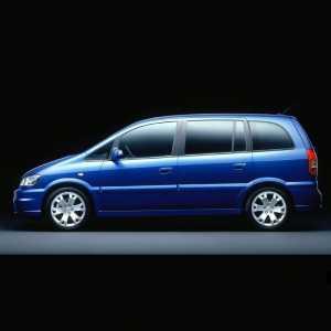 Příčníky Thule Opel Zafira 2005-2011 s pevnými body