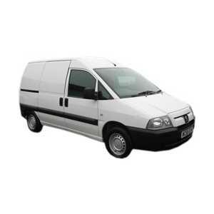 Příčníky Thule Peugeot Expert VAN 1995-2006 s pevnými body