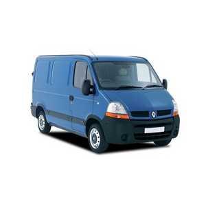 Příčníky Thule Renault Master 1998-2010 s pevnými body