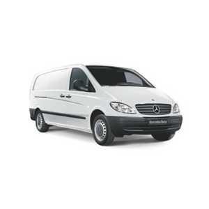 Příčníky Thule WingBar Mercedes-Benz Vito 1996-2014 s T-profily