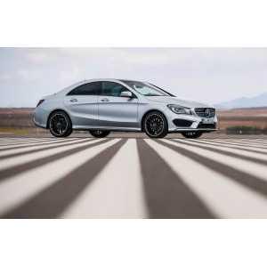 Příčníky Thule WingBar Mercedes-Benz CLA 2013- s pevnými body