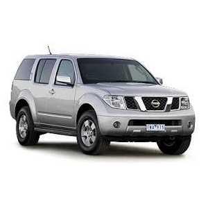 Příčníky Thule Nissan Pathfinder 2005-2015