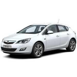 Příčníky Thule Opel Astra 2010-2015 s pevnými body
