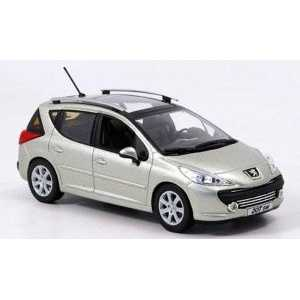 Příčníky Thule WingBar Peugeot 207 Kombi 2007-2012 s podélníky
