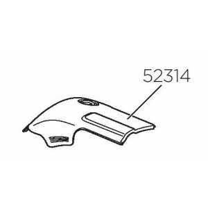 Krytka pravá Thule 52314 pro Thule 958x