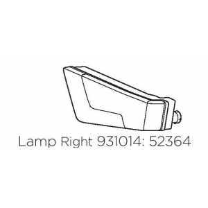 Lampa pravá Thule 52364