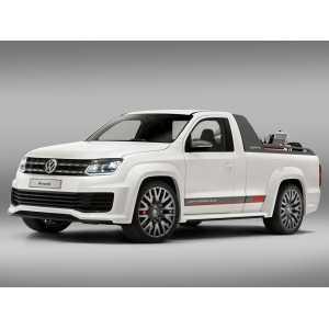 Příčníky Thule VW Amarok 2013- s pevnými body