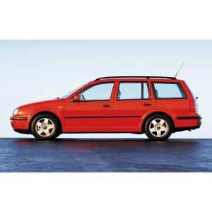 Příčníky Thule WingBar Edge VW Golf IV Variant 1999-2007 s podélníky