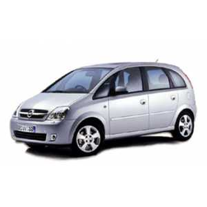 Příčníky Thule WingBar Edge Opel Meriva 2003-2009 s pevnými body