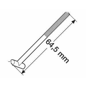 "Šroub ""T"" upínací 64mm (50554)"