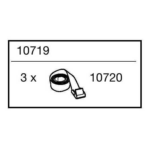 Popruhy Thule 10719