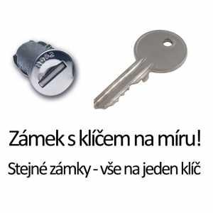 Služba zámek a klíč Thule na přání (sjednocení zámků)