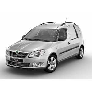 Příčníky Thule WingBar Edge Black Škoda Praktik 2007-2015 s podélníky