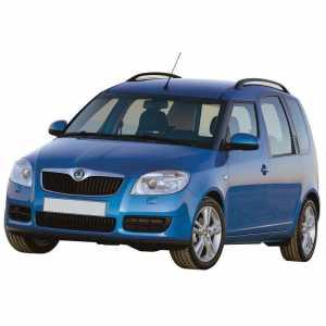 Příčníky Thule WingBar Edge Black Škoda Roomster 2006-2015 s podélníky