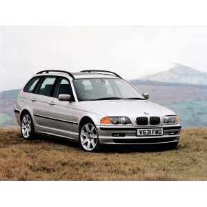Příčníky Thule WingBar Edge Black BMW 3 Touring E46 1996-2005 s podélníky