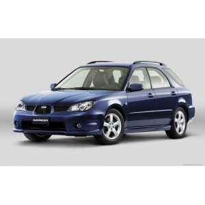 Příčníky Thule WingBar Edge Black Subaru Impreza Kombi 2005-2010 s podélníky