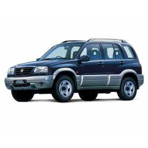 Příčníky Thule WingBar Edge Black Suzuki Grand Vitara 1998-2004 s podélníky