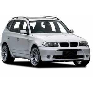 Příčníky Thule WingBar Edge Black BMW X3 E83 2003-2010 s podélníky