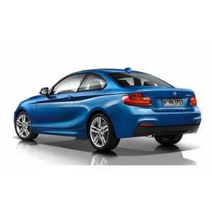 Příčníky Thule WingBar Edge Black BMW 2 Coupé 2014- s pevnými body