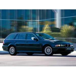 Příčníky Thule WingBar Edge Black BMW 5 Touring E39 1997-2003 s pevnými body