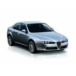 Příčníky Thule WingBar Black Alfa Romeo 159 Sportwagon sedan 2006-2011