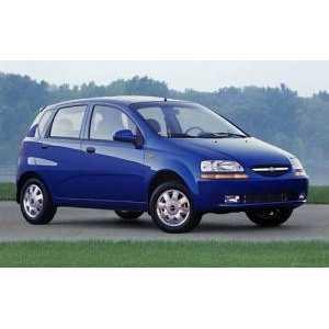 Příčníky Thule WingBar Black Chevrolet Aveo hatchback 2003-2011