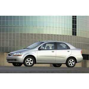 Příčníky Thule WingBar Black Chevrolet Aveo sedan 2006-2011