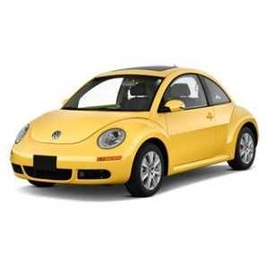 Příčníky Thule WingBar Black VW Beetle 1998-2011