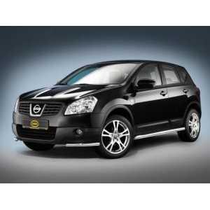 Příčníky Thule WingBar Black Nissan Qashqai 2007-2013