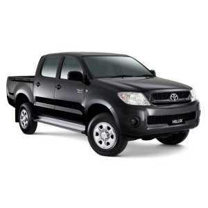 Příčníky Thule WingBar Black Toyota Hilux 4.dv 2005-