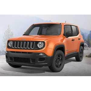 Příčníky Thule WingBar Black Jeep Renegade SUV 2015-