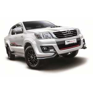 Příčníky Thule WingBar Black Toyota Hilux Double Cab 2016-