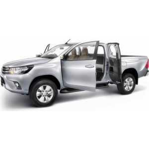 Příčníky Thule WingBar Black Toyota Hilux Extra Cab 2016-