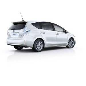 Příčníky Thule WingBar Toyota Prius Kombi 2012-