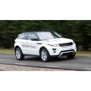 Příčníky Thule WingBar Black Land Rover Range Rover Evoque 2011- s podélníky