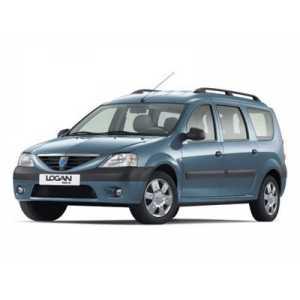 Příčníky Thule WingBar Black Dacia Logan 2007-2012 s podélníky