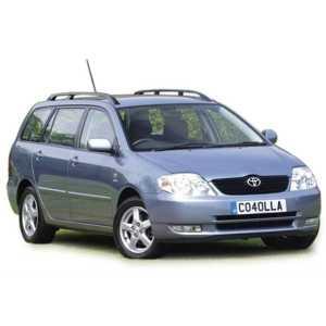 Příčníky Thule WingBar Black Toyota Corolla kombi 2002-2006 s podélníky