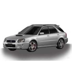 Příčníky Thule WingBar Black Subaru Impreza kombi 1993-2010 s podélníky