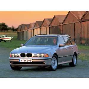 Příčníky Thule WingBar Black BMW 5 Touring E39 E61 1997-2010 s podélníky