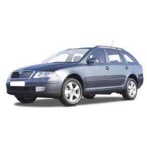 Příčníky Thule WingBar Black Škoda Octavia II Combi 2004-2012 s podélníky