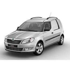 Příčníky Thule WingBar Black Škoda Praktik 2007-2015 s podelníky