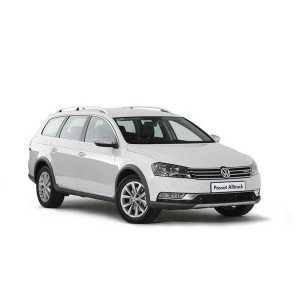 Příčníky Thule WingBar Black VW Passat Alltrack 2012-2014 s podélníky
