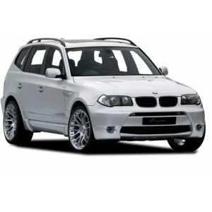 Příčníky Thule WingBar Black BMW X3 E83 2003-2010 s podélníky